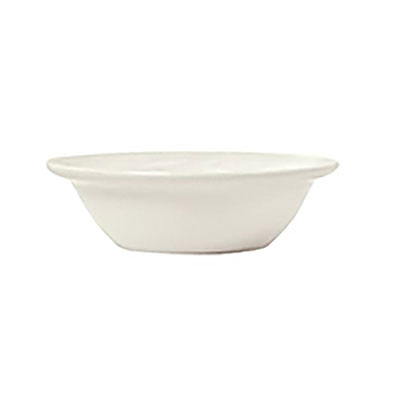 Syracuse China 911194027 16.5-oz Grapefruit Bowl w/ Reflections Pattern & Shape, Alumawhite Body