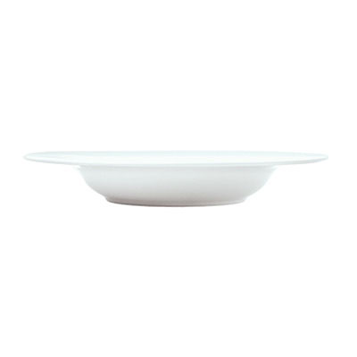 Syracuse China 911194029 22-oz Pasta Bowl w/ Reflections Pattern & Shape, Alumawhite Body