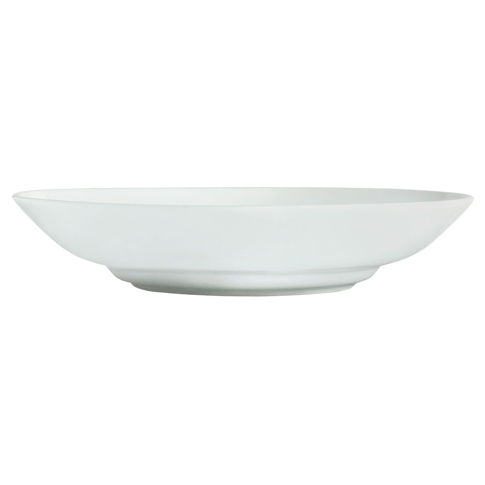 Syracuse China 911194050 50-oz Bowl w/ Reflections Pattern & Shape, Alumawhite Body