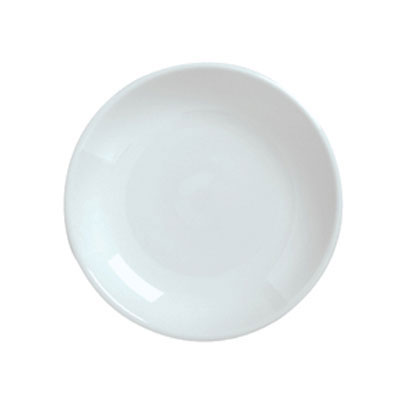 "Syracuse China 911194496 8.12"" Plate, Coupe, w/ Reflections Pattern & Shape, Alumawhite Body"