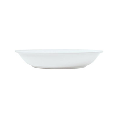 Syracuse China 911194498 32-oz Shallow Bowl w/ Reflections Pattern & Shape, Alumawhite Body
