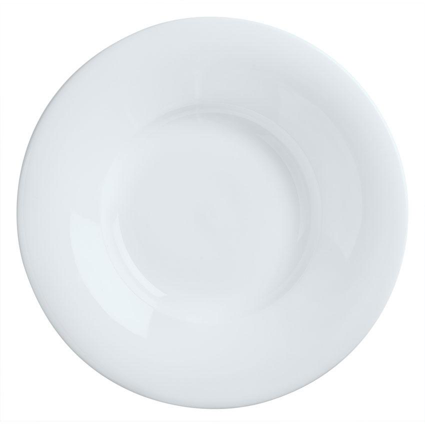 Syracuse China 911194701 9-oz Reflections Pasta Bowl - Round, Aluma White