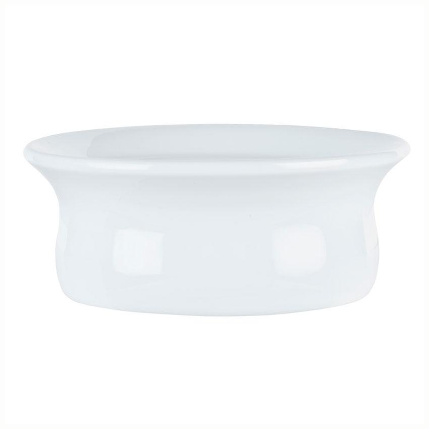 Syracuse China 911194806 9-oz Chef's Selection Pot Pie Dish - Round, Aluma White