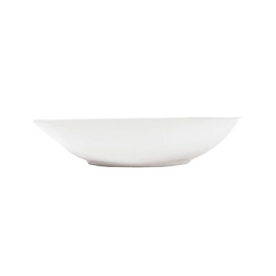 Syracuse China 911195008 10-oz Bowl w/ Contempra Pattern & Square Shape, Bone China Body