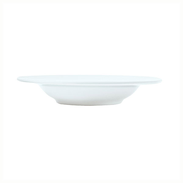 Syracuse China 911196007 13-oz Rim Soup Bowl w/ Repetition Pattern & Shape, Bone China Body