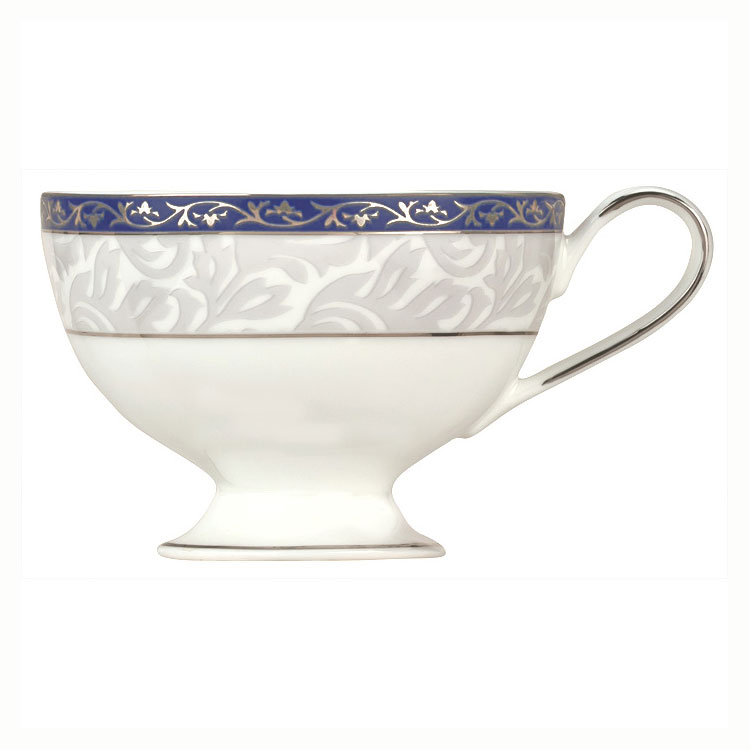 Syracuse China 912345011 7-1/2-oz Scarborough Cup - Glazed, Footed, White