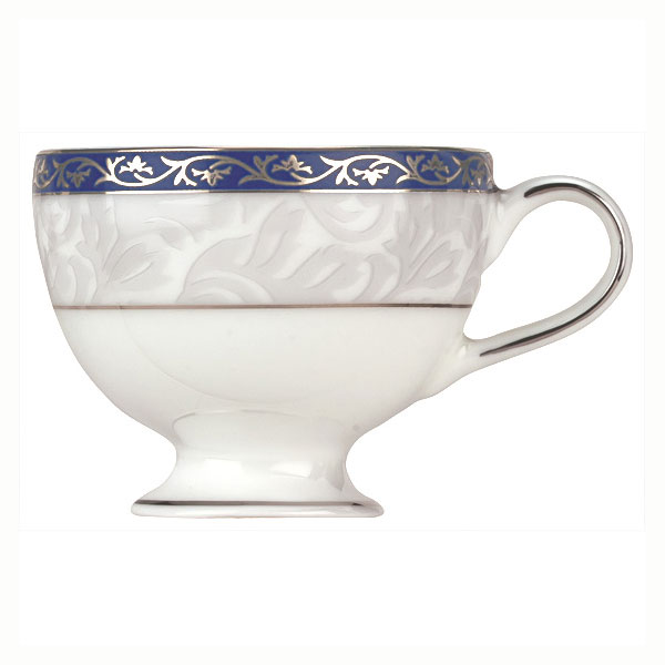 Syracuse China 912345016 3-3/4-oz Scarborough A.D. Cup - Footed, Glazed, White