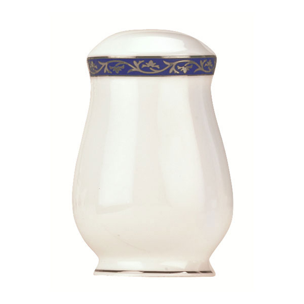 Syracuse China 912345026 Scarborough Salt Shaker - Glazed, White