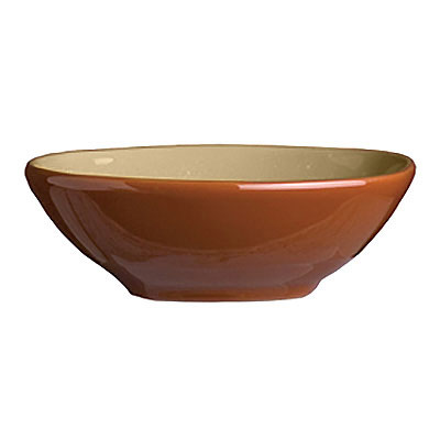 Syracuse China 922222355 4-oz Round Bowl, Terracotta Clay, 2-Tone, Pine, 4.12x1.25-in