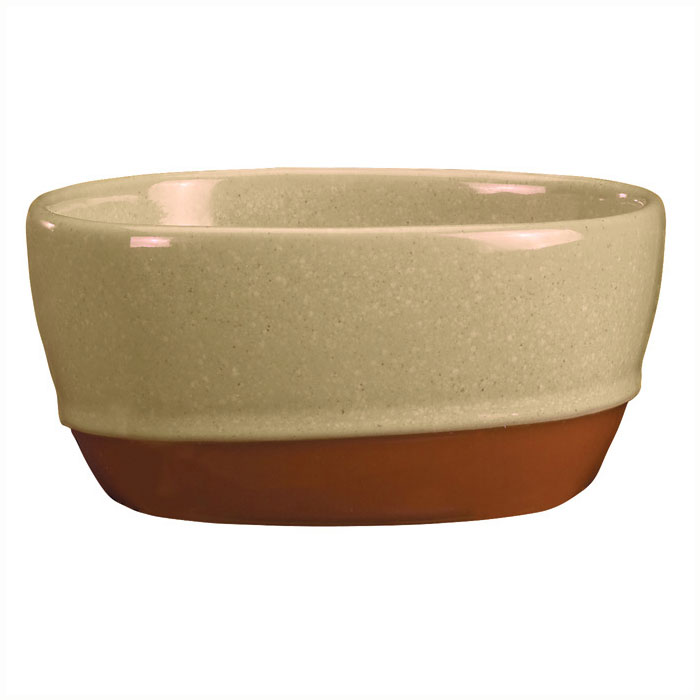 Syracuse China 922222356 9.5-oz Round Bouillon, Terracotta Clay, 2-Tone, Pine