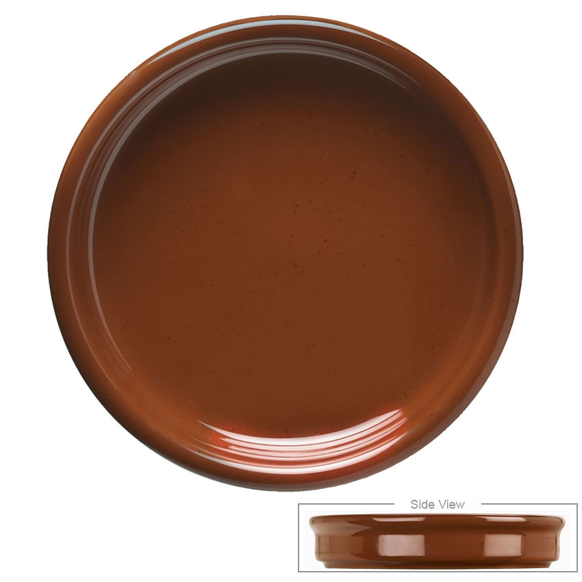 Syracuse China 922229900 4-oz Terracotta Cazuela Bowl - Round, Brown
