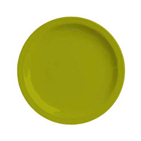 "Syracuse China 923036002 11-1/4"" Cantina Plate - Glazed, Limon"