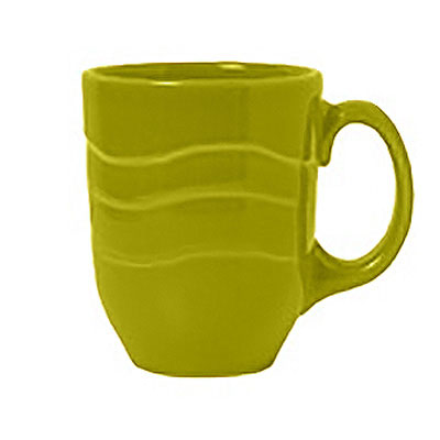 Syracuse China 923036004 11-oz Cantina Mug - Glazed, Limon
