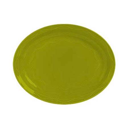 """Syracuse China 923036008 11-5/8"""" Cantina Platter - Glazed, Limon"""