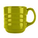 Syracuse China 923036888 12-oz Cantina Mug - Glazed, Limon