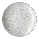 "Syracuse China 9331221-63070 7.87"" Shabby Chic Plate - Coupe, Porcelain, Structure Gray"