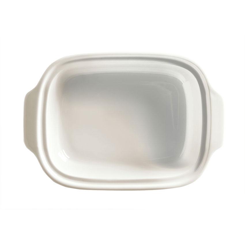 Syracuse China 945356117 16-oz Rectangular Crock - Oven/Microwave Safe, Slenda Pattern, White