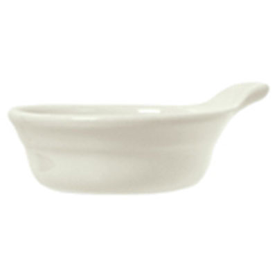 Syracuse China 950027725 9.5-oz Medium Casserole Dish w/ Casablanca Pattern & Gibraltar Shape, Flint Body