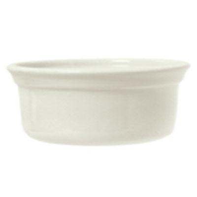 Syracuse China 950027729 13-oz Round Casserole Dish w/ Casablanca Pattern & Gibraltar Shape, Flint Body