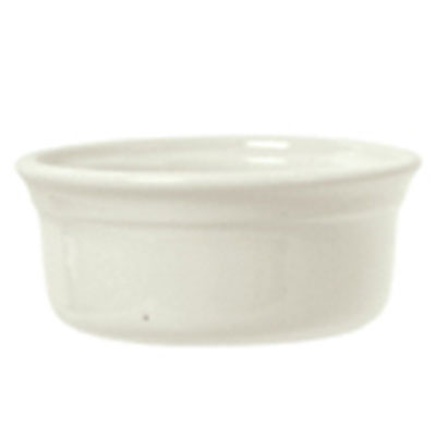 Syracuse China 950027739 9-oz Round Pot Pie Dish w/ Casablanca Pattern & Gibraltar Shape, Flint