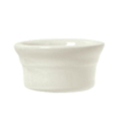 Syracuse China 950027742 5-oz Ramekin w/ Casablanca Pattern & Gibraltar Shape, Flint Body