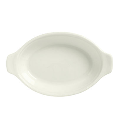 Syracuse China 950027747 5-oz Small Oval Welsh Rarebit, Casablanca Pattern & Gibraltar Shape, Flint Body