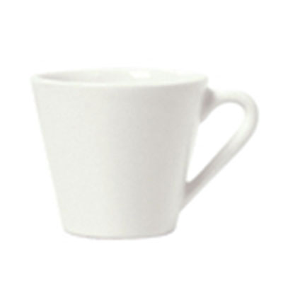 Syracuse China 950033506 7.25-oz Tea Cup w/ Cirrus Pattern & American Shape, Alumina Body