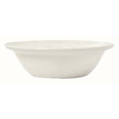Syracuse China 950038007 10-oz Grapefruit Bowl w/ Cascade Pattern & Turina Shape, Flint Body