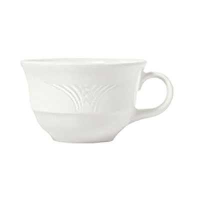 Syracuse China 950041109 6.88-oz Low Tea Cup w/ Cafe Royal Pattern & Tremont Shape, Syralite Body