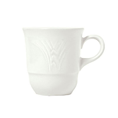 Syracuse China 950041111 7.12-oz Low Tea Cup w/ Cafe Royal Pattern & Tremont Shape, Syralite Body