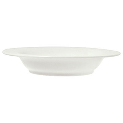 Syracuse China 950041148 14-oz Rim Soup Bowl w/ Cafe Royal Pattern & Tremont Shape, Syralite Body