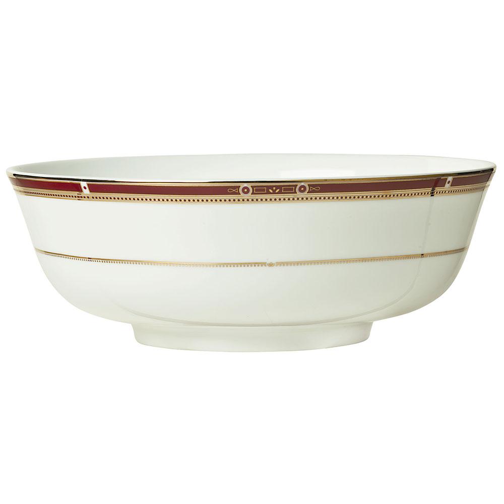 Syracuse China 954321004 13-1/2-oz Barrymore Rim Soup Bowl - Round, Glazed, White