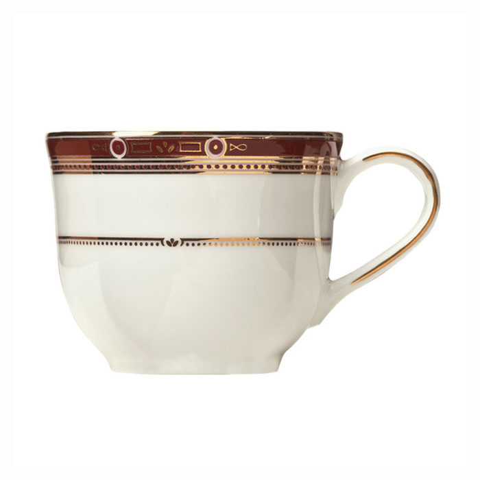 Syracuse China 954321011 6-oz Barrymore Cup - Glazed, White