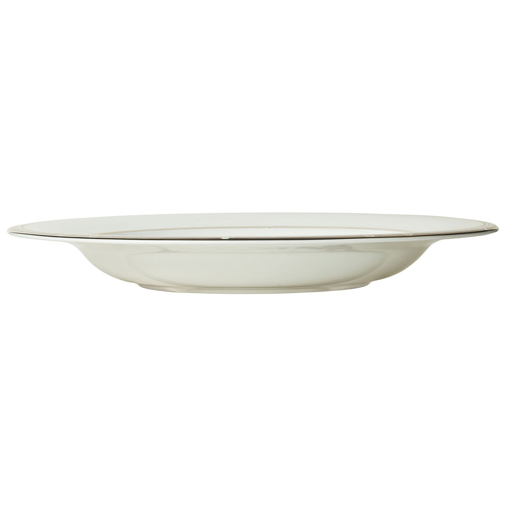 Syracuse China 954321024 28-oz Barrymore Pasta Bowl - Round, Glazed, White