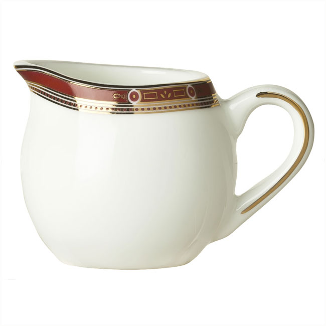 Syracuse China 954321030 6-oz Barrymore Creamer - Glazed, Handle, Bone China