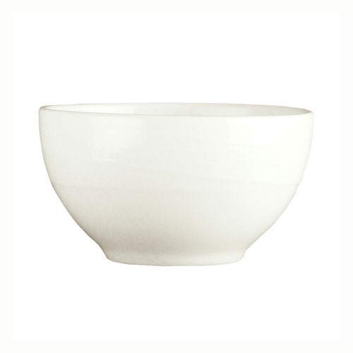 Syracuse China 987659325 8-oz Oval Bowl w/ Silk Pattern & Royal Rideau, Alumina Body