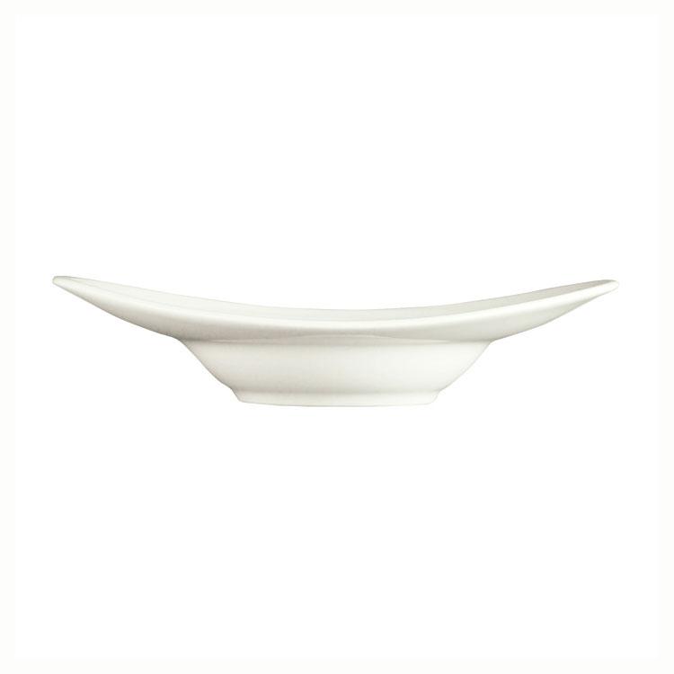 Syracuse China 987659327 2.5-oz Appetizer Dish w/ Silk Pattern & Royal Rideau, Alumina Body