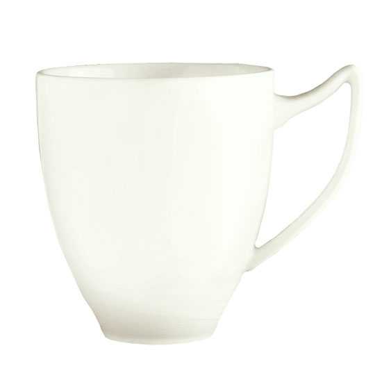 Syracuse China 987659341 12-oz Handled Mug w/ Silk Pattern & Royal Rideau, Alumina Body