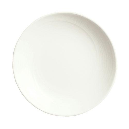 Syracuse China 987659349 2.5-oz Dipping Dish w/ Silk Pattern & Royal Rideau, Alumina Body
