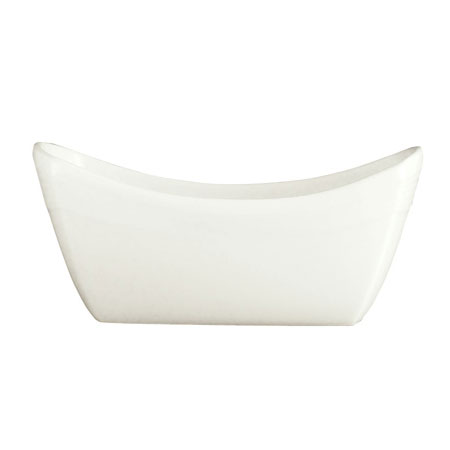 Syracuse China 987659360 Sugar Packet Holder w/ Silk Pattern & Royal Rideau, Alumina Body, 4x2.62-in