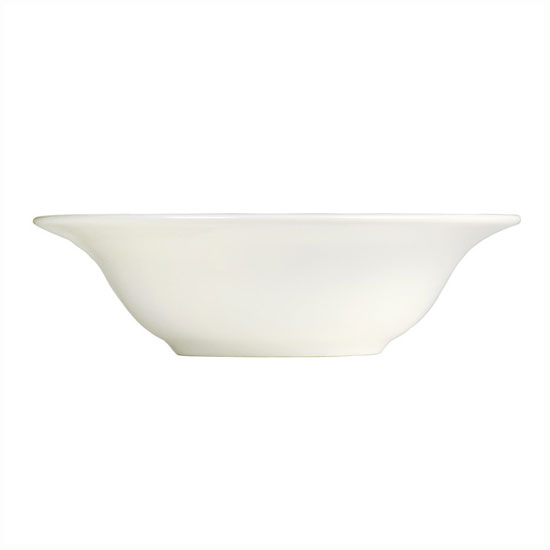 Syracuse China 995679514 12-oz Grapefruit Bowl w/ Resonate Pattern & Royal Rideau, Alumina Body