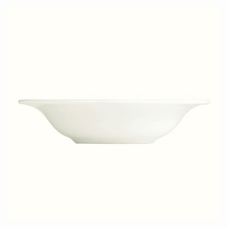 "Syracuse China 995679516 4.25"" Fruit Bowl w/ Resonate Pattern & Royal Rideau, Alumina Body"