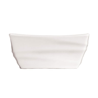 Syracuse China 995679520 Sugar Packet Holder w/ Resonate Pattern & Royal Rideau, Alumina Body, 4x2.62""