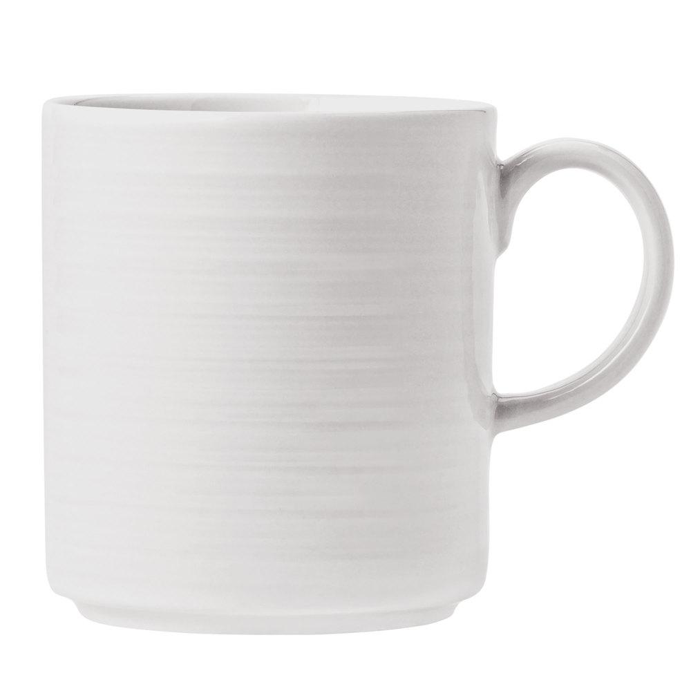 Syracuse China 999001572 12-oz Galileo Constellation Mug - Porcelain, Lunar White