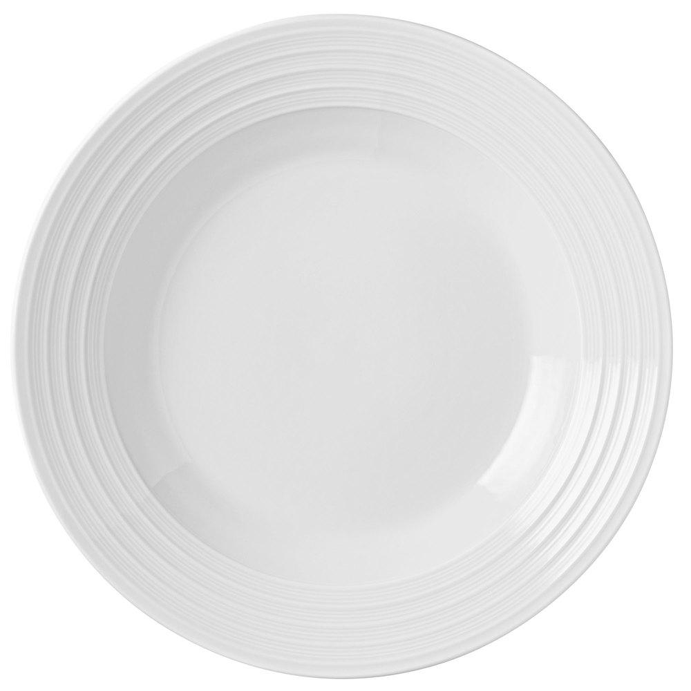 Syracuse China 999001740 11-oz Galileo Constellation Soup Bowl - Porcelain, Lunar White