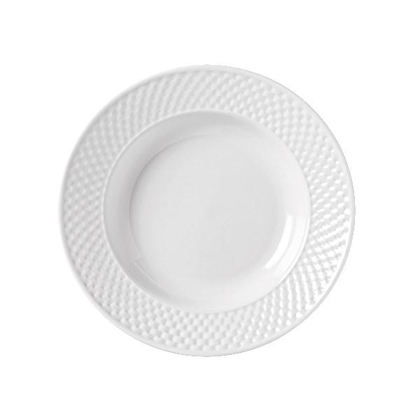 Syracuse China 999013740 11-oz EOS Constellation Soup Bowl - Porcelain, Lunar White