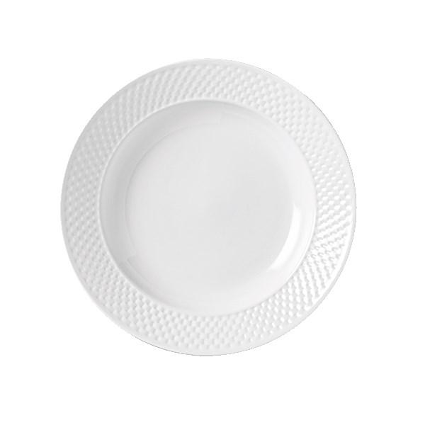 Syracuse China 999013785 20.5-oz EOS Constellation Bowl - Porcelain, Lunar White