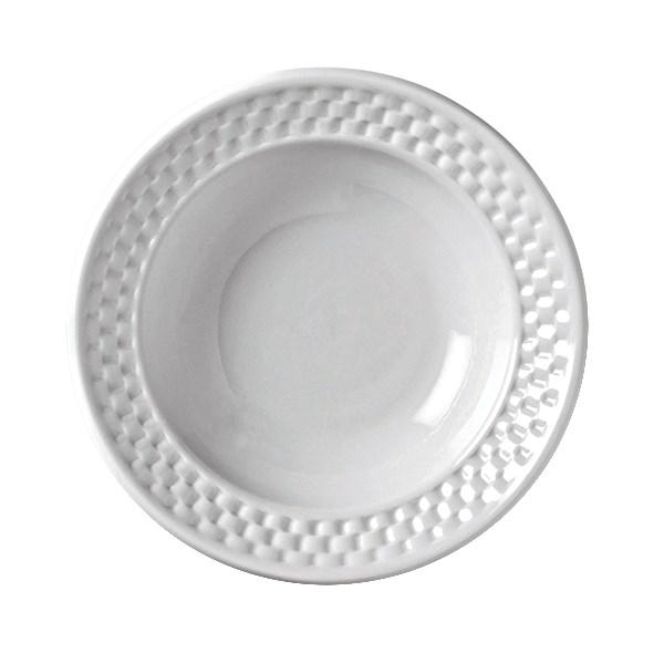 Syracuse China 999013892 3.5-oz EOS Constellation Fruit Bowl - Porcelain, Lunar White