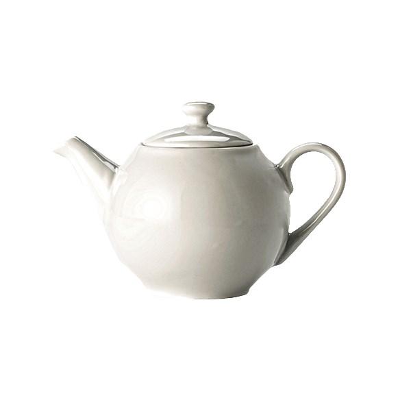 Syracuse China 999333040 15-oz Constellation Teapot - Porcelain, Lunar White
