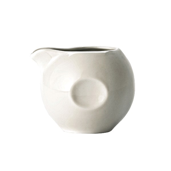 Syracuse China 999333077 3.5-oz Constellation Creamer - Porcelain, Lunar White